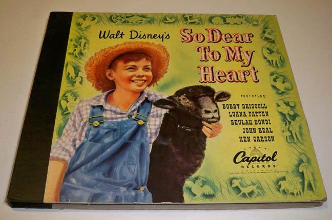 1949 Capitol DD 109 SO DEAR TO MY HEART Soundtrack Album - 2 (of 4) 78s