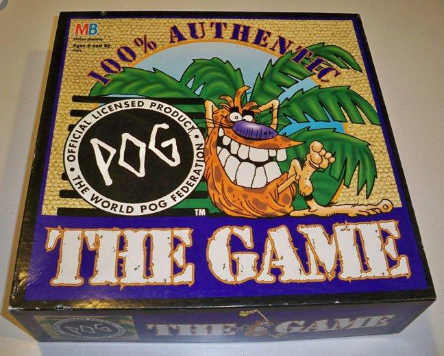 Vintage 1995 World POG Federation POG The Game