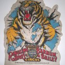 Vintage 1985 Ringling Brothers & Barnum & Bailey Circus Felt Banner