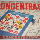 Vintage MB 1959 Concentration Game #4950 15th Edition