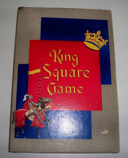 Vintage 1955 Polygon Corp. King Square Game