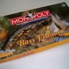 Vintage Hasbro Bass Fishing Edition Monopoly Board Game
