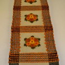 Vintage Wool Embroidered Hand Made in Poland Table Runner / Hanging