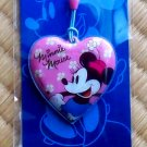New Disney Minnie Mouse Heart Shaped LCD CLEANER Cell Phone Charm
