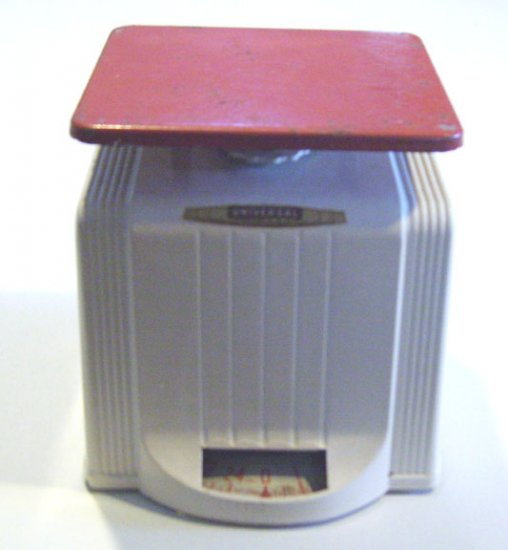 Vintage Universal Landers Frary & Clark ART DECO Kitchen Scale circa 1930s