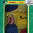 Eden Toys 2000 Madeline & Friends Clothing Arts n' Crafts NIB