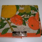 Vintage Belcrest Prints Linen Citrus Fruit Tea Towel NWT