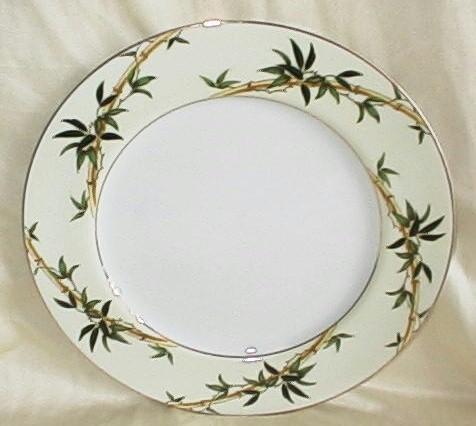 Vintage Kent China Bali Hai Dinner Plate MIJ Set of 2