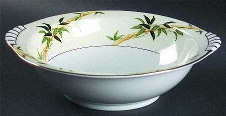 "Vintage Kent China Bali Hai Vegetable Bowl 10"" MIJ"