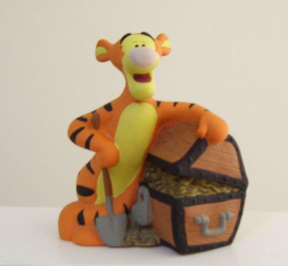 Disney Tigger (Winnie the Pooh) Treasure Chest Bank