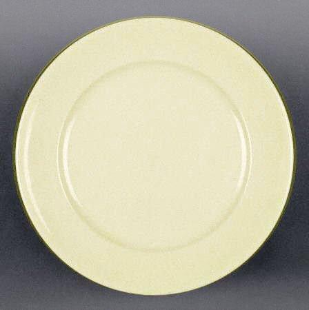 "Vintage 1930s Buffalo China Colorido Ware Bread Plate 7 1/4"" Set of 2"