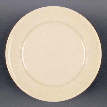 "Vintage 1960s Buffalo China Restaurant Ware Tan 7"" Bread Plate - Set of 2"