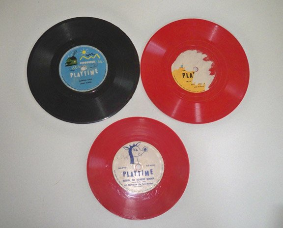 Vintage Columbia Records Playtime 78 rpm Lot of 3