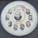 Vintage 1966 Wonderful World of Ohio Commemorative Ceramic Plate