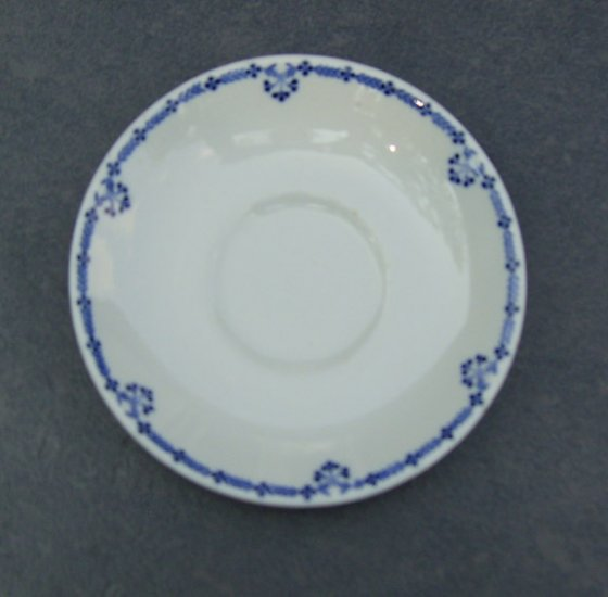 "Vintage 1930s Buffalo China Nathan Straus & Sons ""Savarin"" Saucer - no cup"