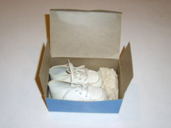 Vintage Child Life #16100 Baby Shoes MIB Size 1