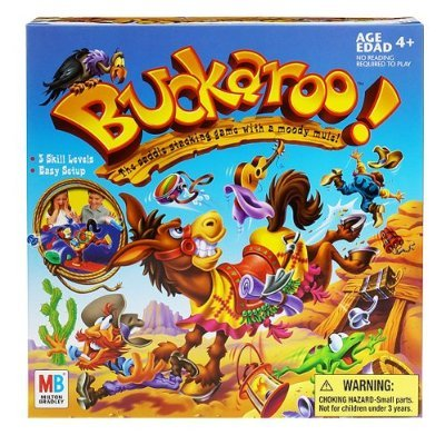 Milton Bradley 2004 Buckaroo Game