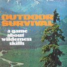 Vintage 1972 Avalon Hill Outdoor Survival Board Game