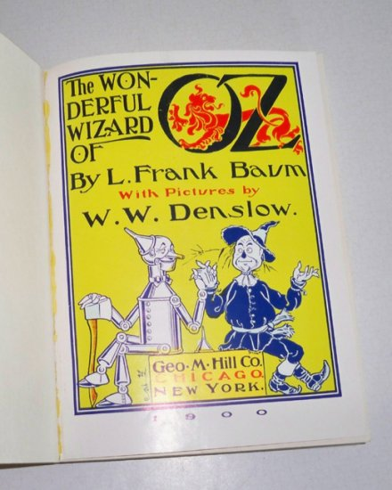 Vintage 1969 The Wonderful Wizard of Oz Read & Hear Book & Record Set CC 30001