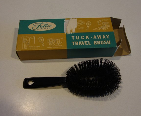 Vintage Fuller Brush Tuck-Away Travel Brush #511 - with Original Box
