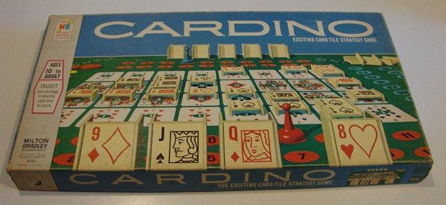2002 Milton Bradley Cardino  Board Game