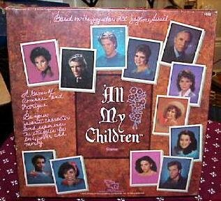 Vintage TSR 1985 All My Children Soap Opera Board Game