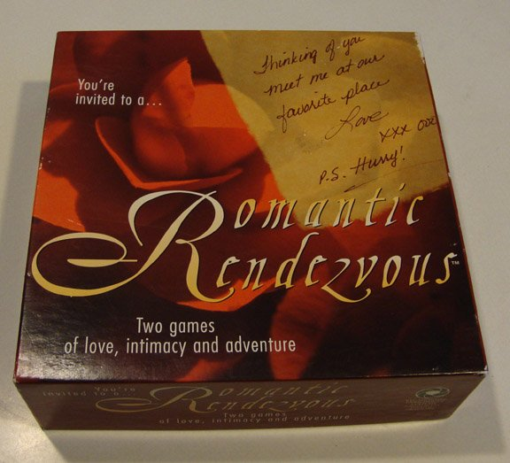 Vintage 1996 Romantic Rendezvous Board Game
