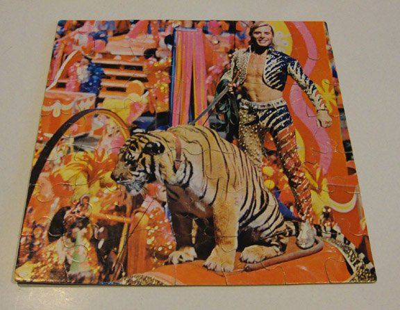 Vintage 1978 Ringling Brothers & Barnum & Bailey Circus 49 Pc Puzzle Gunther Gebel-Williams