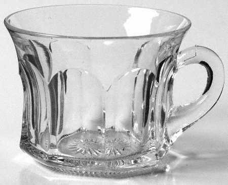 Vintage Heisey Colonial Clear Punch Cup