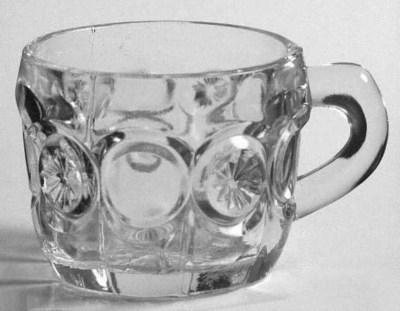 Vintage Tiffin Moon & Star Punch Cup - Set of 3