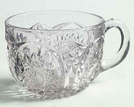 Vintage Duncan & Miller Homestead Clear Punch Cup
