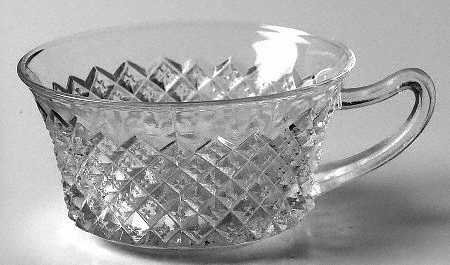 Vintage Anchor Hocking Glass Miss America Cups (no saucer) - Set of 5