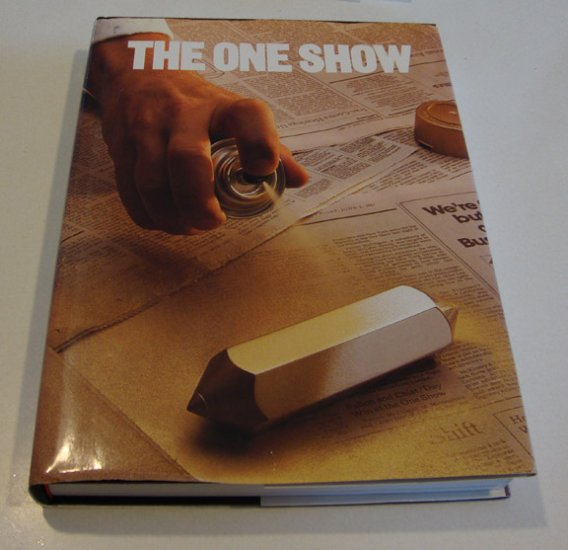 """Vintage The One Club 1988 First Edition """"The One Show"""" Volume 9"""