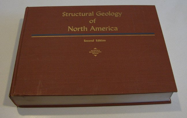 Vintage Structural Geology of North America Harper's Geoscience Series by A. J Eardley