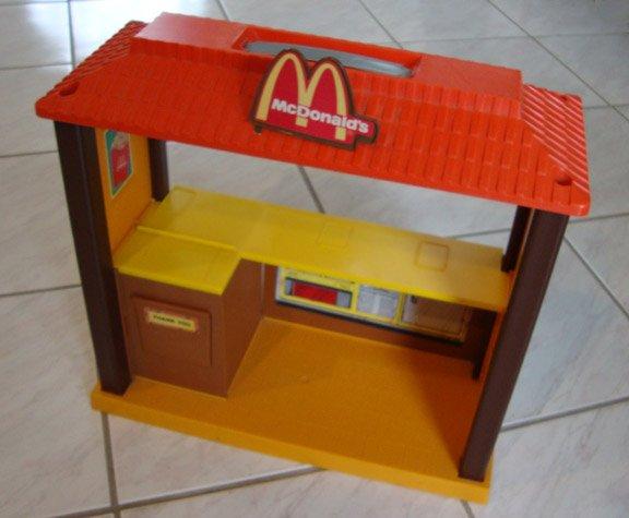 Vintage 1982 Mattel Barbie Loves McDonald's Playset Parts