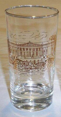 Vintage Glass Artist V. Cuthbert - Buffalo Historical Society Tumbler