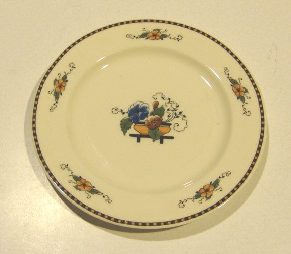 Vintage Syracuse China Old Ivory Chiquita Bread & Butter Plate Set of 5