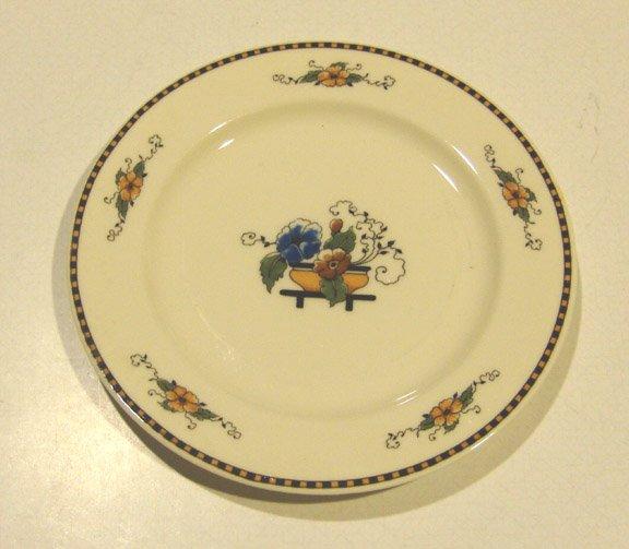 Vintage Syracuse China Old Ivory Chiquita Dessert Pie Plate Set of 4