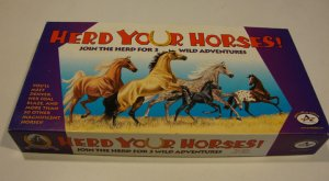 Aristoplay 2000 Herd Your Horses Board Game