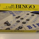 Vintage 1989 Golden 40 Card Bingo Game