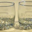 McCormick's Irish Cream Advertising On the Rocks Glass Bormioli GALASSIA - Set of 2