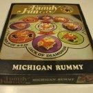 Vintage 1971 Hasbro #2021 World of Family Fun Michigan Rummy Game