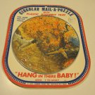 """Vintage 1977 Circular Mail-A-Puzzle """"HANG IN THERE BABY!"""""""