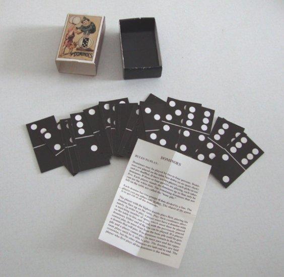 Vintage 1996 B. Shackman No. 9746 Dominoes in Box Hong Kong