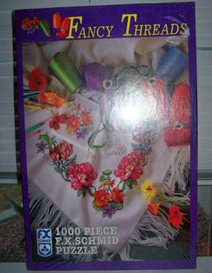Vintage 1997 FX Schmid - Fancy Threads 1000 Pc MIB New