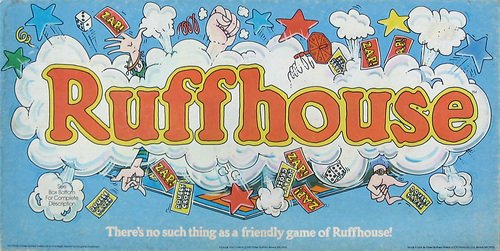 Vintage 1980 Parker Brothers Ruffhouse Board Game