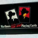Marlboro 1991 Wild West Playing Cards & Poker Dice Game w/ Pouch