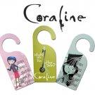 Neca Coraline Door Knob Hangers Set of 3 New