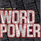 Vintage 1963 Avalon Games Word Power Game
