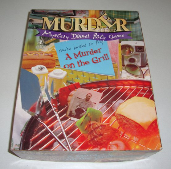 bePuzzled Murder Mystery Party - A Murder on the Grill